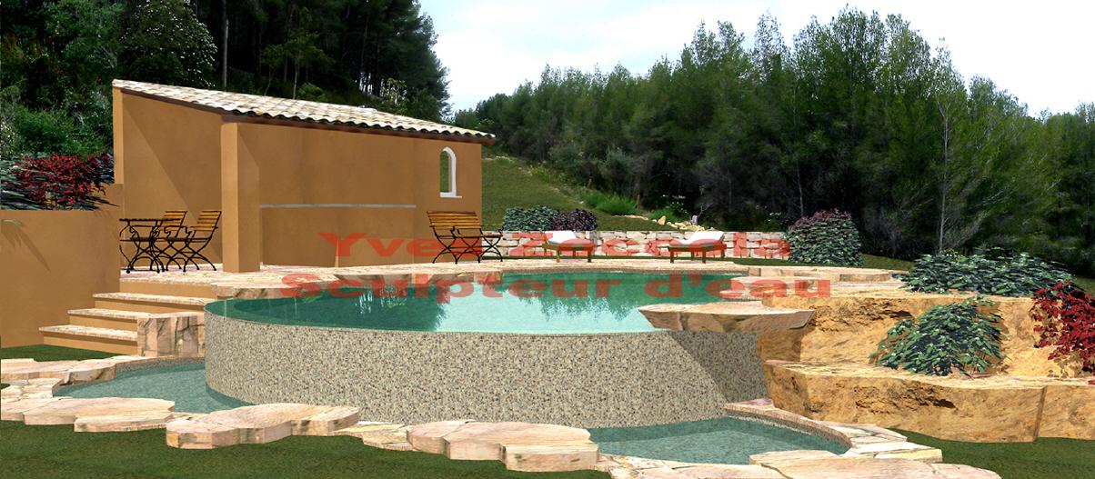 Yves zoccola concepteur de piscine for Piscine bac