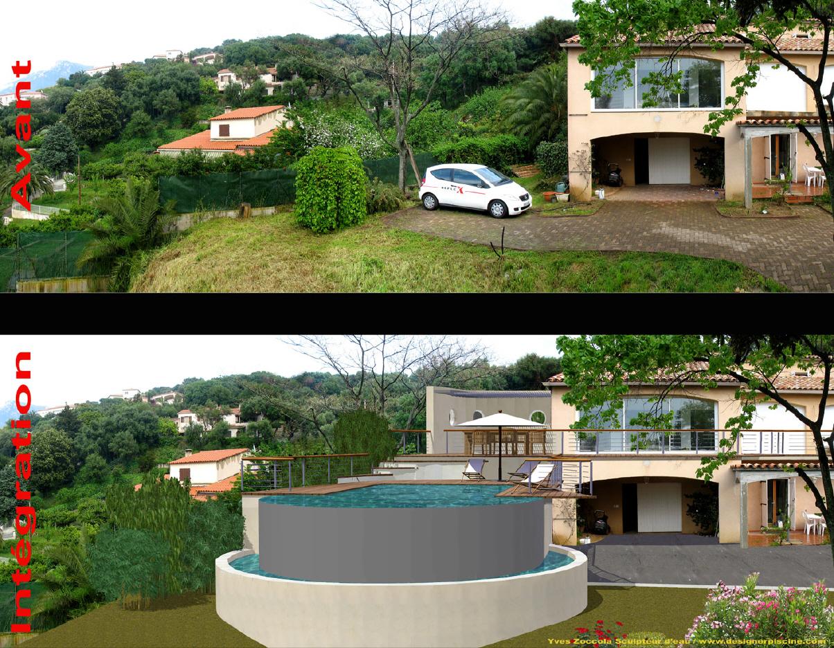 Yves zoccola concepteur de piscine for Tarif piscine coque posee